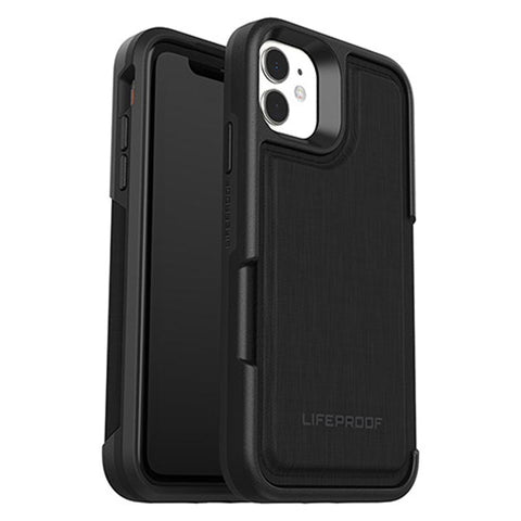 "Shop LifeProof Flip Wallet Case  for Iphone 11 (6.1"") - Dark Night Cases & Covers from Lifeproof"