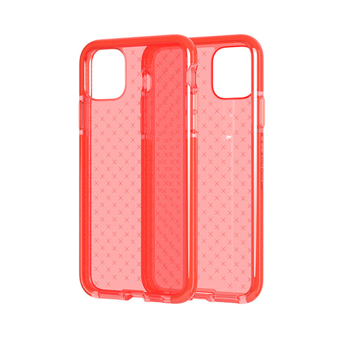 Shop Tech21 Evo Check Tough Case for iPhone 11 Pro Max (6.5) - Coral Cases & Covers from Tech21