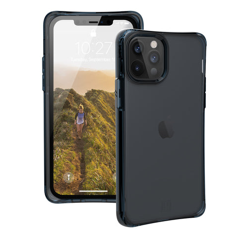 shop off your new UAG with blue semi clear light rugged case for iphone 12 pro/12, buy online now at syntricate.