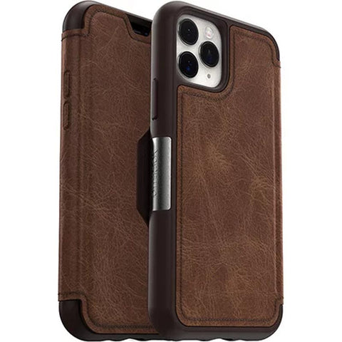 "Shop Otterbox Strada leather Folio Wallet Case For iPhone 11 Pro (5.8"") - Espresso Cases & Covers from Otterbox"