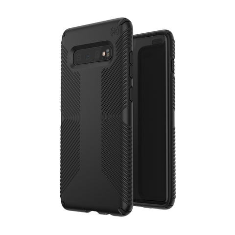 SPECK PRESIDIO GRIP CASE FOR SAMSUNG GALAXY S10 - BLACK/BLACK