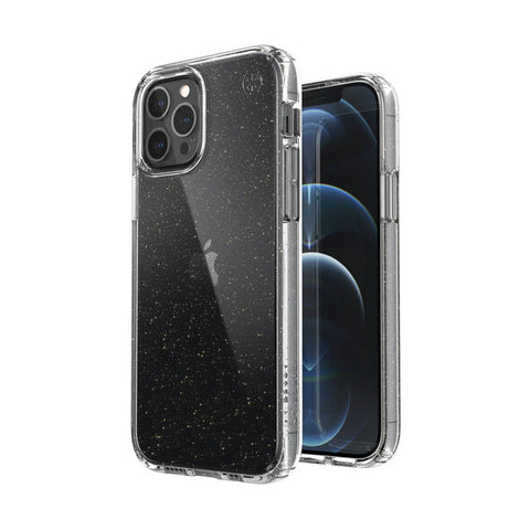 get the latest SPECK presidio perfect-clear with glitter case For iPhone 12 Pro/12 buy now online only at syntricate.