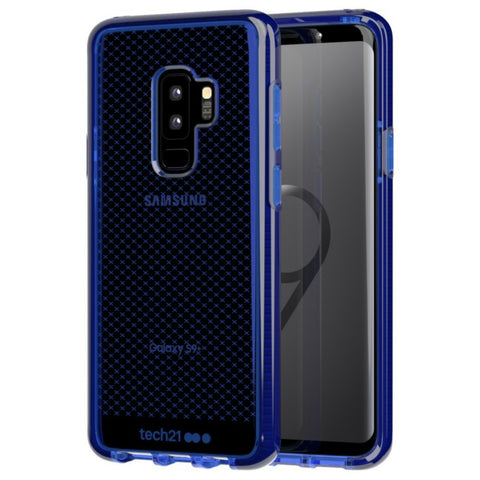 TECH21 EVO CHECK FLEXSHOCK CASE FOR GALAXY S9 PLUS - MIDNIGHT BLUE