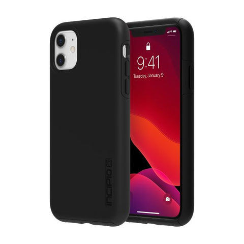 "Shop INCIPIO DualPro Dual Layer Case for iPhone 11 (6.1"") - Black Cases & Covers from Incipio"