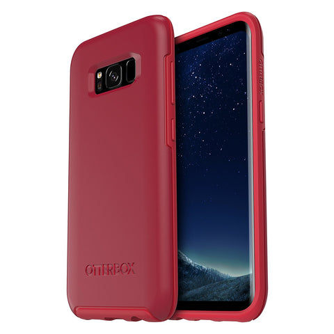 Shop OTTERBOX SYMMETRY SLEEK SLIM CASE FOR SAMSUNG GALAXY S8+ (6.2 inch) - RED Cases & Covers from Otterbox