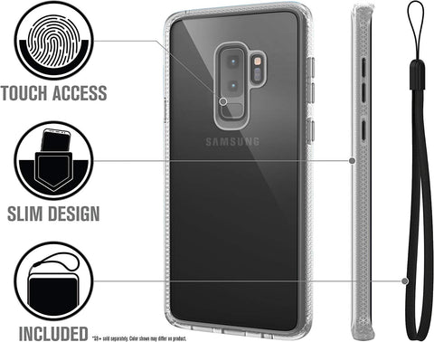Shop CATALYST IMPACT PROTECTION CASE FOR GALAXY S9 PLUS - CLEAR Cases & Covers from Catalyst