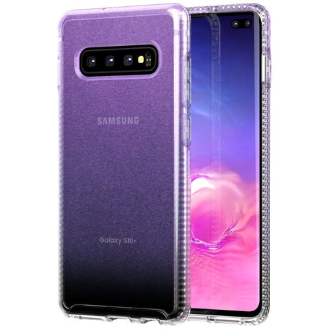 Shop TECH21 PURE SHIMMER CASE FOR GALAXY S10 PLUS (6.4-INCH) - PINK Cases & Covers from TECH21