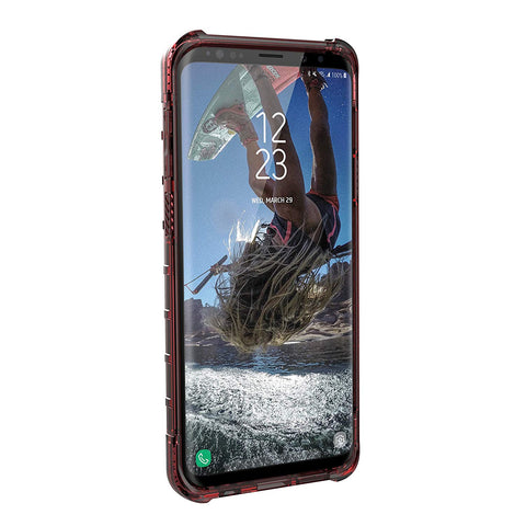 Shop UAG PLYO ARMOR SHELL CASE FOR SAMSUNG GALAXY S9 PLUS - CRIMSON  from Syntricate Asia