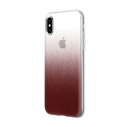 Shop INCIPIO DESIGN SERIES CLASSIC CASE FOR IPHONE XS/X - CRANBERRY SPARKLER Cases & Covers from Incipio