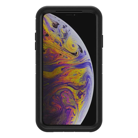 Shop OTTERBOX OTTER + POP DEFENDER CASE FOR IPHONE XS MAX - BLACK  from Syntricate Asia