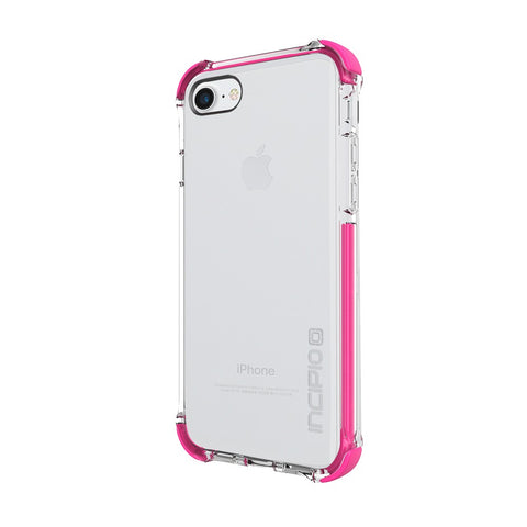 Shop Incipio Reprieve [Sport] Rugged Case for iPhone 7 - Clear/Pink Cases & Covers from Incipio