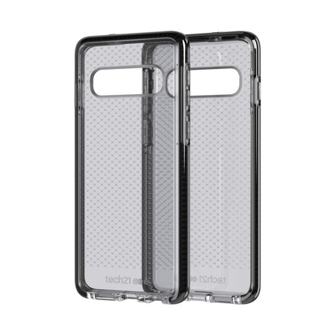 Shop TECH21 EVO CHECK CASE FOR GALAXY S10 (6.1-INCH) - SMOKEY BLACK Cases & Covers from TECH21