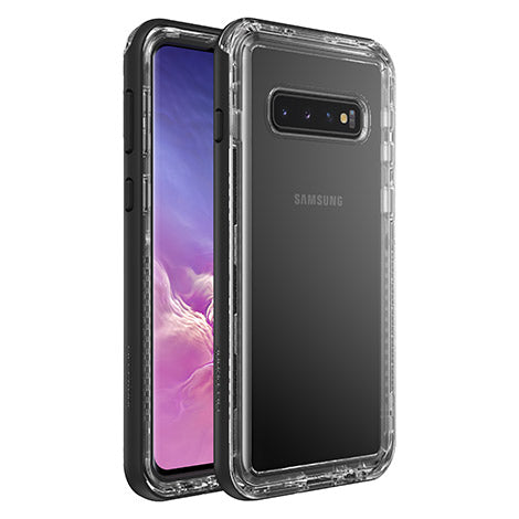 Shop LIFEPROOF NEXT RUGGED CASE FOR SAMSUNG GALAXY S10 (6.1-INCH) - BLACK/CLEAR Cases & Covers from Lifeproof