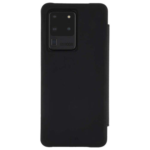 Shop Casemate Leather Wallet Card Folio Case For Galaxy S20 Ultra 5G (6.9-inch) - Black Cases & Covers from Casemate