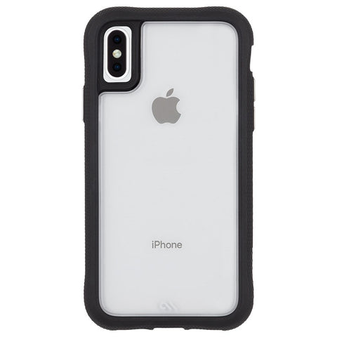 Shop CASEMATE TRANSLUCENT PROTECTION CASE FOR IPHONE XS MAX - CLEAR/BLACK Cases & Covers from Casemate