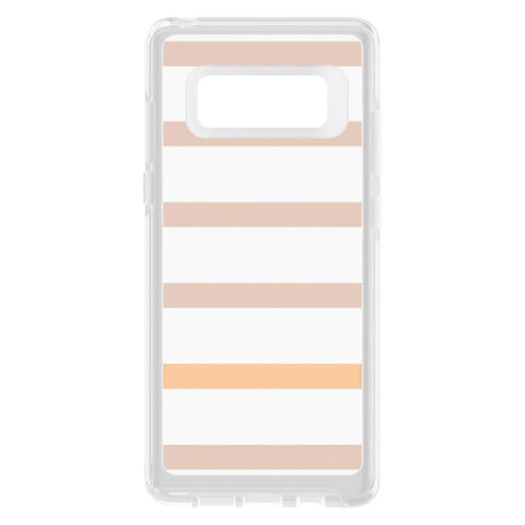 Shop OTTERBOX SYMMETRY CLEAR GRAPHICS SLIM CASE FOR SAMSUNG GALAXY NOTE 8 - INSIDE THE LINES Cases & Covers from Otterbox
