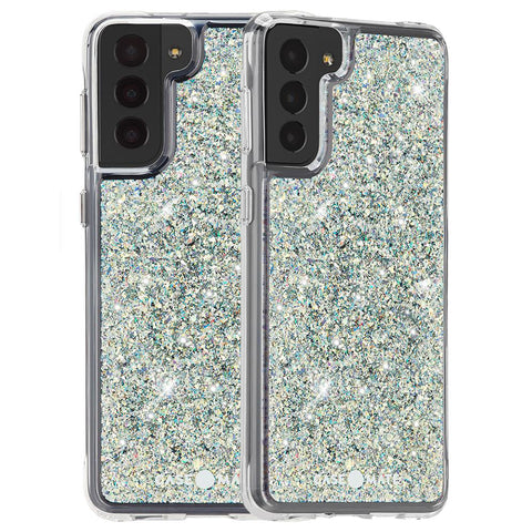 Place to buy online glittery case look more feminine for Galaxy S21 5G.