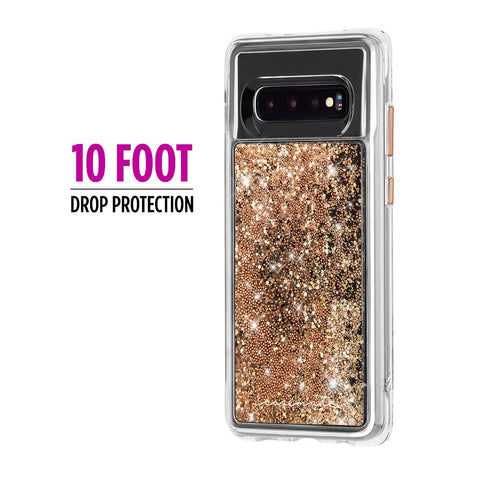 Shop CASEMATE WATERFALL CASE FOR GALAXY S10 (6.1-INCH) - GOLD Cases & Covers from Casemate