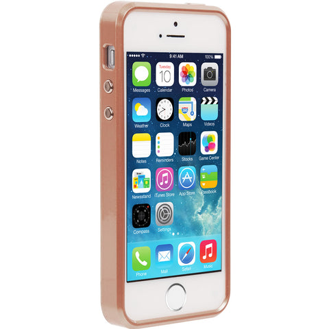 Shop CaseMate Brilliance Case for iPhone SE/5s/5 - Rose Gold  from Syntricate Asia