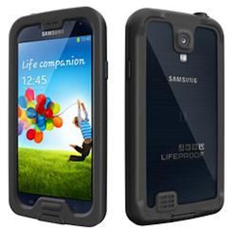 Shop LIFEPROOF FRE WATERPROOF CASE FOR SAMSUNG GALAXY S4 -BLACK/CLEAR Cases & Covers from Lifeproof