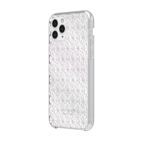 "KATE SPADE NEW YORK Protective Hardshell Case For iPhone 11 Pro Max (6.5"") - Spade Flower Pearl"