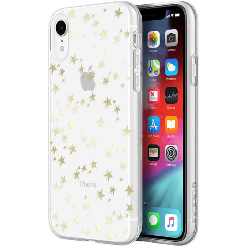 buy online clear case with glitter for iphone xr