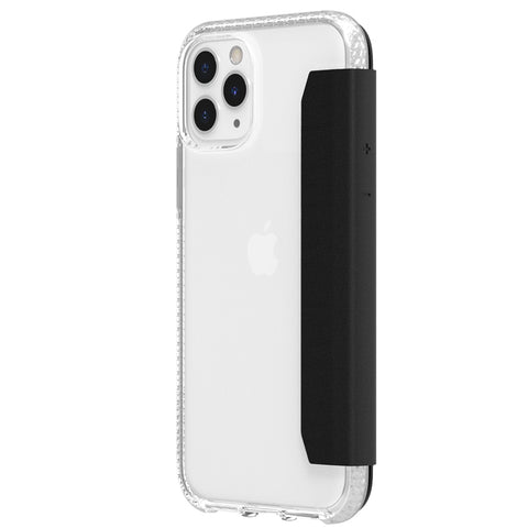 "Shop GRIFFIN Survivor Clear Wallet for iPhone 11 Pro Max (6.5"") - Clear/Black Cases & Covers from Griffin"