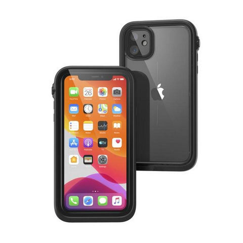 "Shop Catalyst Waterproof Case For iPhone 11 (6.1"") - Stealth Black Cases & Covers from Catalyst"