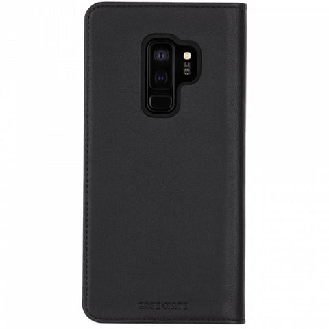 Shop CASEMATE WALLET LEATHER CARD FOLIO CASE FOR GALAXY S9 PLUS - BLACK Cases & Covers from Casemate