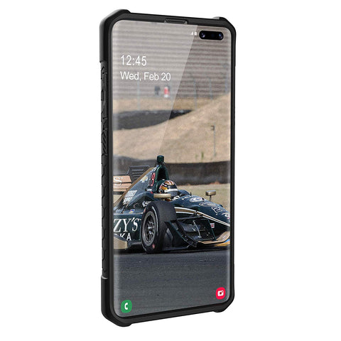 Shop UAG MONARCH HANDCRAFTED RUGGED CASE FOR GALAXY S10 5G (6.7-INCH) - CARBON FIBER Cases & Covers from UAG