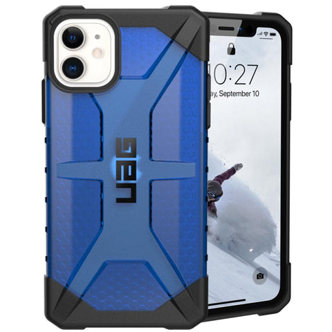"Shop UAG Plasma Armor Shell Case for iPhone 11 (6.1"") - Cobalt Cases & Covers from UAG"