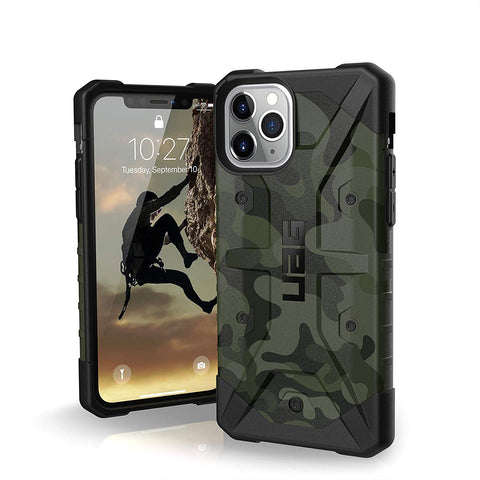 "Shop UAG Pathfinder SE Feather-Light Rugged Case iPhone 11 Pro Max (6.5"") - Forest Camo Cases & Covers from UAG"