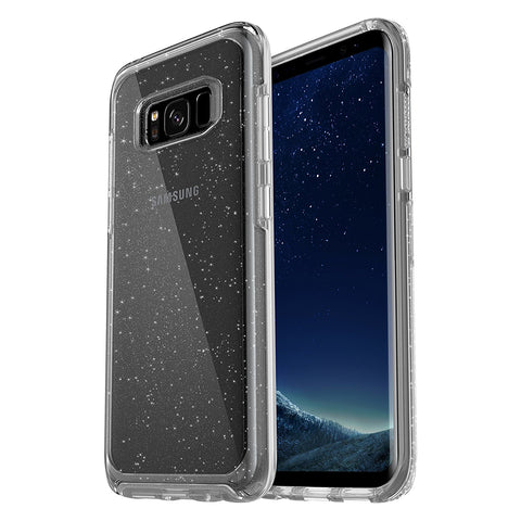 OTTERBOX SYMMETRY CLEAR SLIM CASE FOR GALAXY S8+ (6.2 inch) - STARDUST