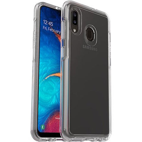 Shop OTTERBOX Symmetry Clear Rugged Case for Galaxy A20/A30 - Clear Cases & Covers from Otterbox