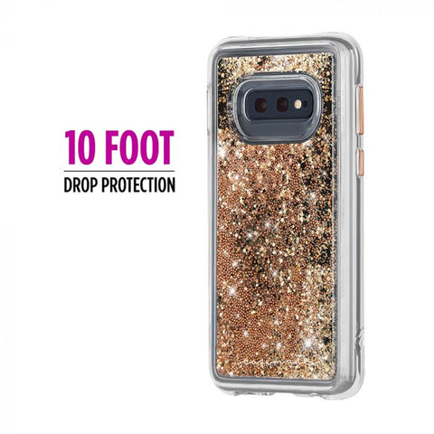 Shop CASEMATE WATERFALL CASE FOR GALAXY S10E (5.8-INCH) - GOLD Cases & Covers from Casemate