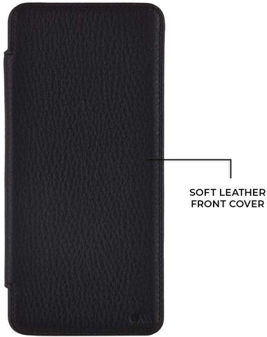 Shop Casemate Leather Wallet Card Folio Case For Galaxy S20 (6.2-inch) - Black Cases & Covers from Casemate