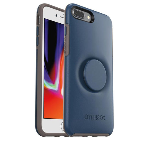 Shop OtterBox Otter + Pop Symmetry Case For iPhone 7 Plus/iPhone 8 Plus - Go To Blue Cases & Covers from Otterbox