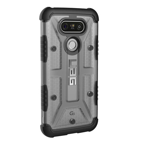 Shop UAG Feather-light Composite Military Standard Case For LG G5 - Ice  from Syntricate Asia