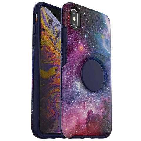 Shop OTTERBOX OTTER + POP SYMMETRY CASE FOR IPHONE XS MAX - BLUE NEBULA  from Syntricate Asia