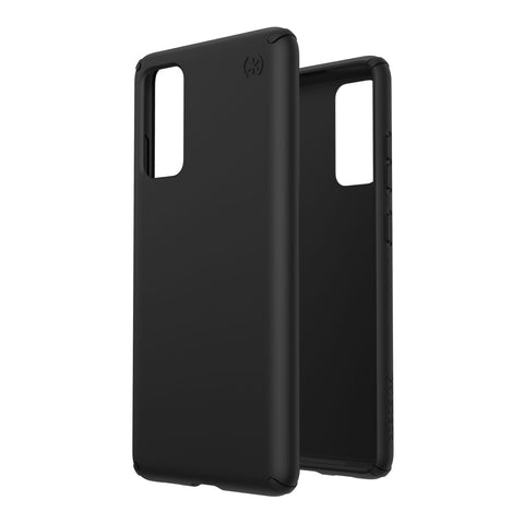 black minimalist case from speck protect your galaxy s20 fe 5g. shop online now at syntricate.