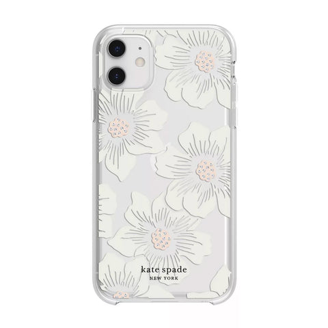 Buy new iPhone 12 Pro/12 protective hardshell case from Kate spade New York - Hollyhock Floral the authentic accessories with afterpay & Free express shipping.