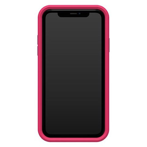 "LIFEPROOF Slam Ultra-Thin Rugged Case For iPhone 11 (6.1"") - Clear/Pink/Blue"