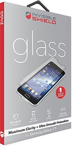 Shop ZAGG Invisible Shield Glass Screen Protector for Samsung Galaxy S5  from Syntricate Asia