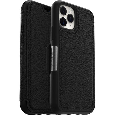 "Shop Otterbox Strada Leather Folio Wallet Case For iPhone 11 Pro (5.8"") - Shadow Cases & Covers from Otterbox"