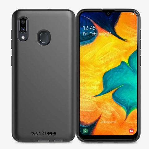 Shop TECH21 STUDIO COLOUR CASE FOR SAMSUNG GALAXY A20 - BLACK Cases & Covers from TECH21