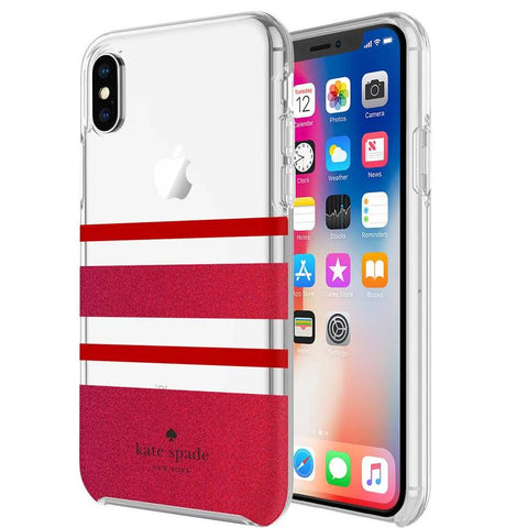 iphone x case red colour from kate spade new york