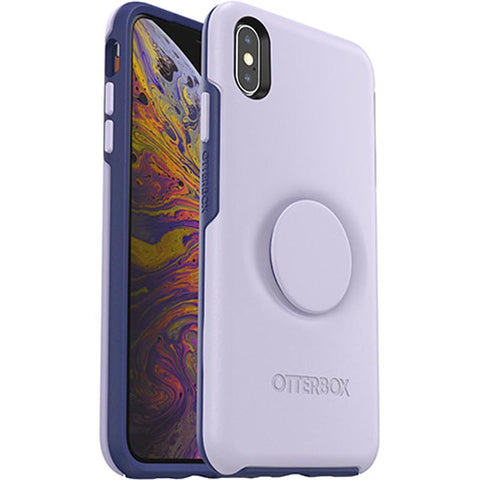 Shop OTTERBOX OTTER + POP SYMMETRY CASE FOR IPHONE XS MAX - LILAC DUSK  from Syntricate Asia