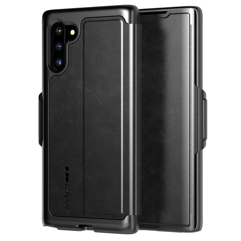 TECH21 EVO WALLET CARD FOLIO CASE FOR GALAXY NOTE 10 (6.3-INCH) - BLACK