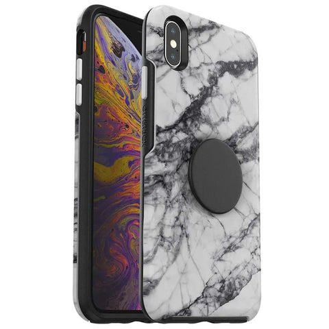 Shop OTTERBOX OTTER + POP SYMMETRY CASE FOR IPHONE XS MAX - WHITE NEBULA  from Syntricate Asia
