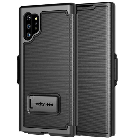 Shop TECH21 EVO TYPE KEYBOARD CASE FOR GALAXY NOTE 10 PLUS / NOTE 10 PLUS 5G (6.8-INCH) - BLACK Cases & Covers from TECH21